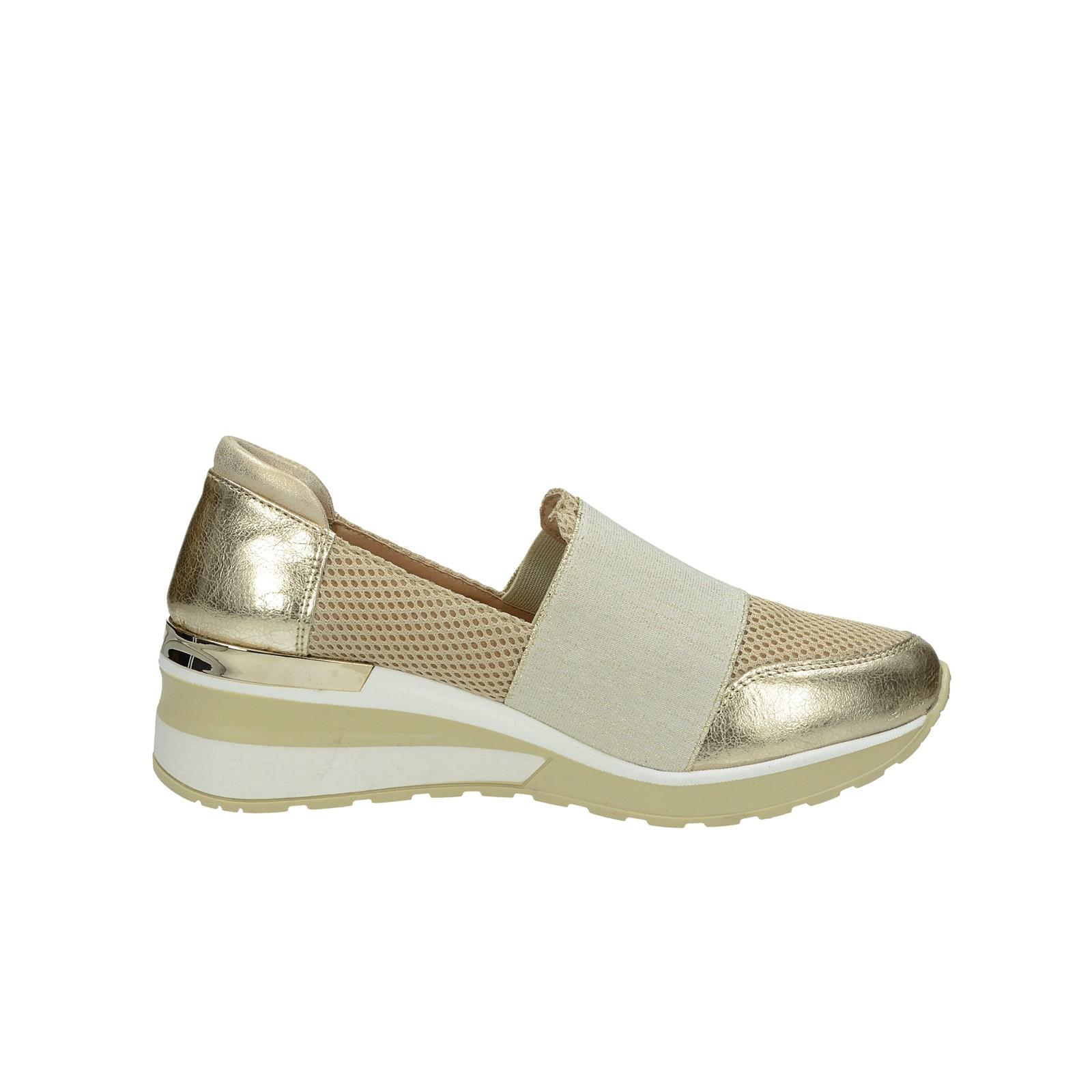 c82bbb547904 ... Olivia shoes dámske kožené štýlové poltopánky - zlaté ...