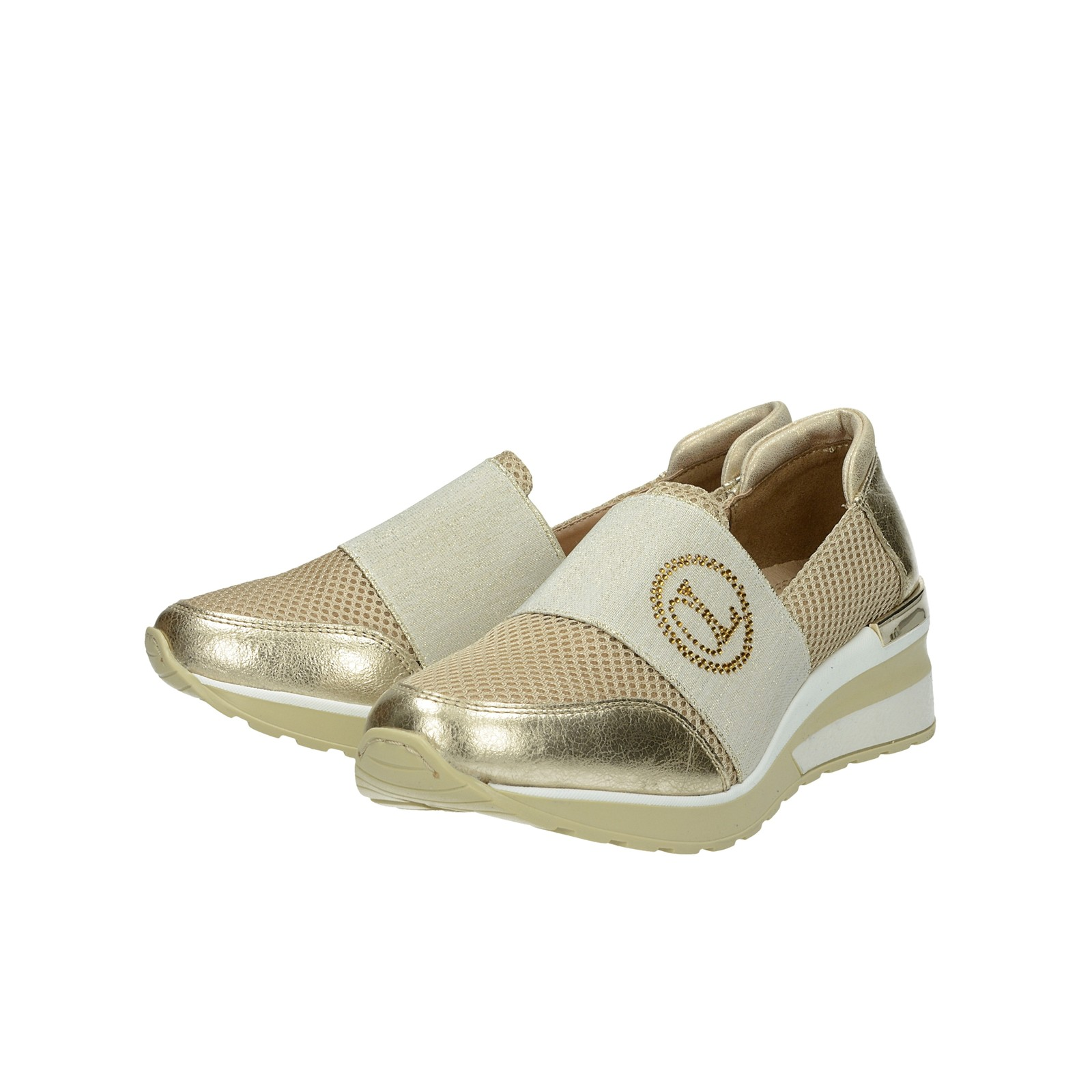 a1c0ebfc3194 Olivia shoes dámske kožené štýlové poltopánky - zlaté ...