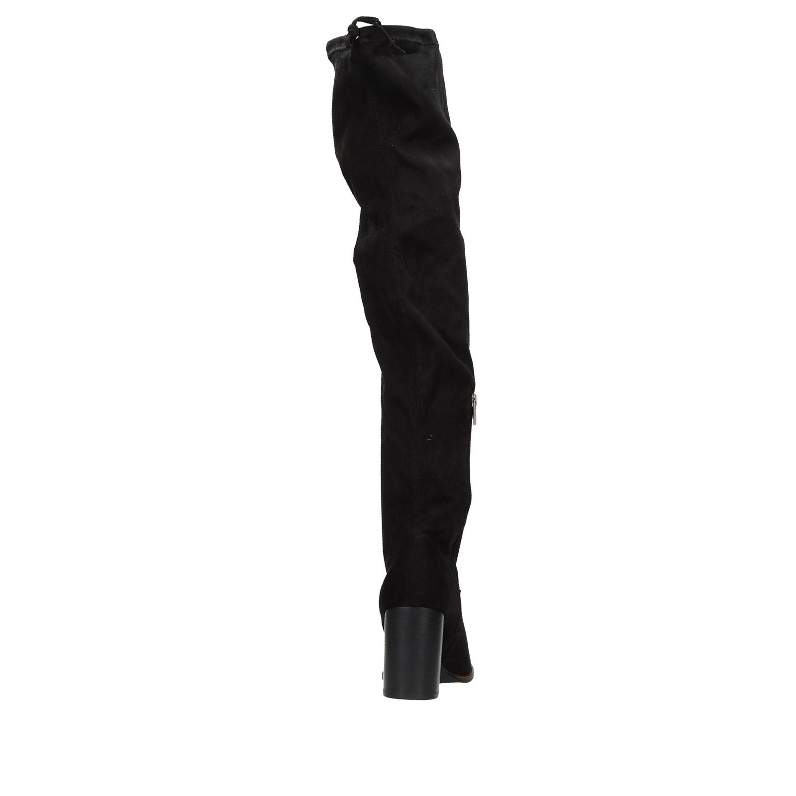 52711f6c00f4 ... Big Star dámske textilné vysoké čižmy - čierne ...