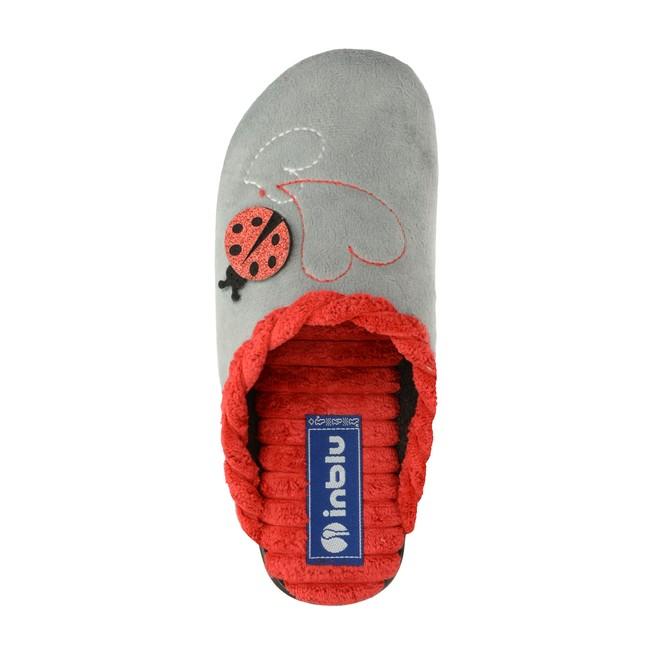 Inblu dámska domáca obuv - šedá