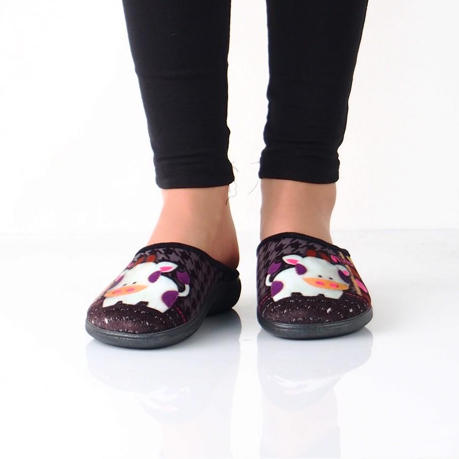 2a6e7ae90927b Inblu dámska zateplená domáca obuv s motívom - viacfarebná | BQ132 ...