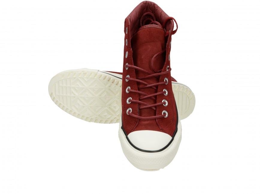 Converse pánske kotníkové tenisky - červené