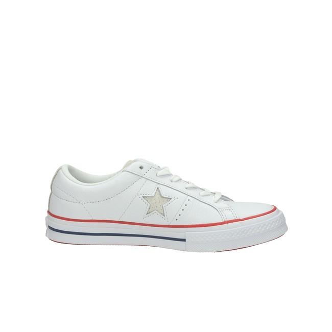 Converse dámske kožené tenisky - biele ... fee747a7fc1