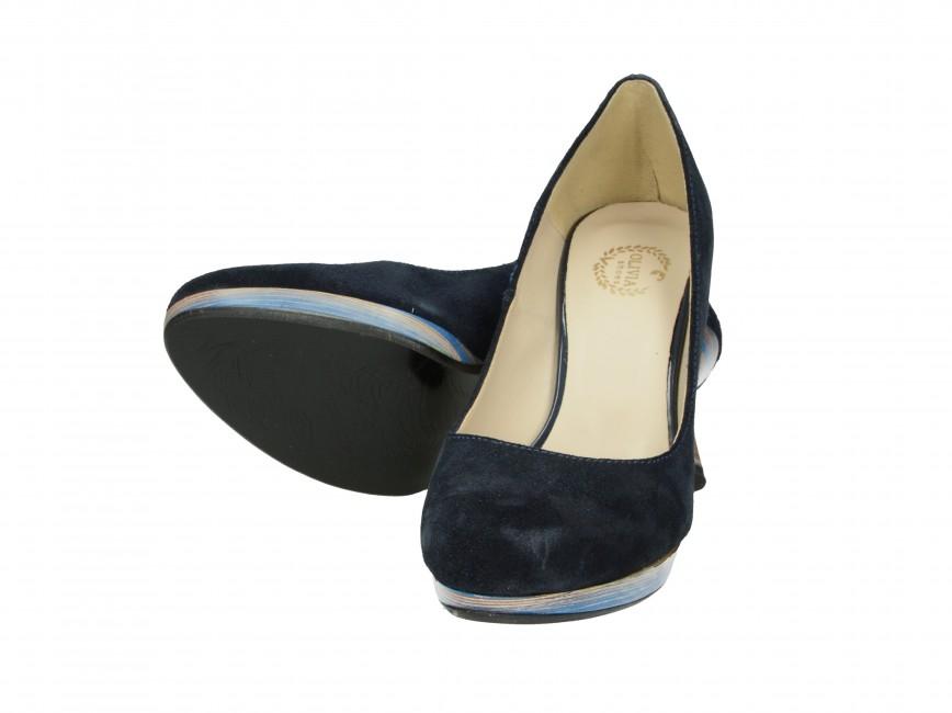Olivia shoes dámske lodičky - tmavomodré