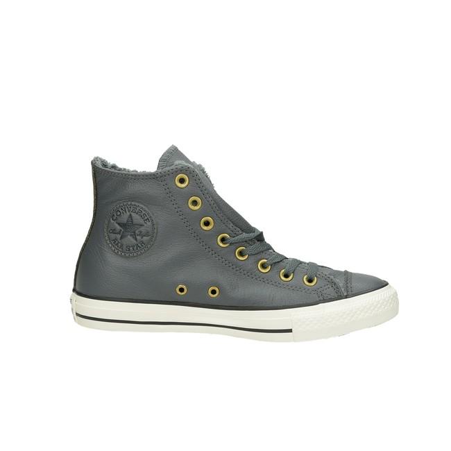 Converse dámske zateplené kotníky - šedé ... 5f6dd551476