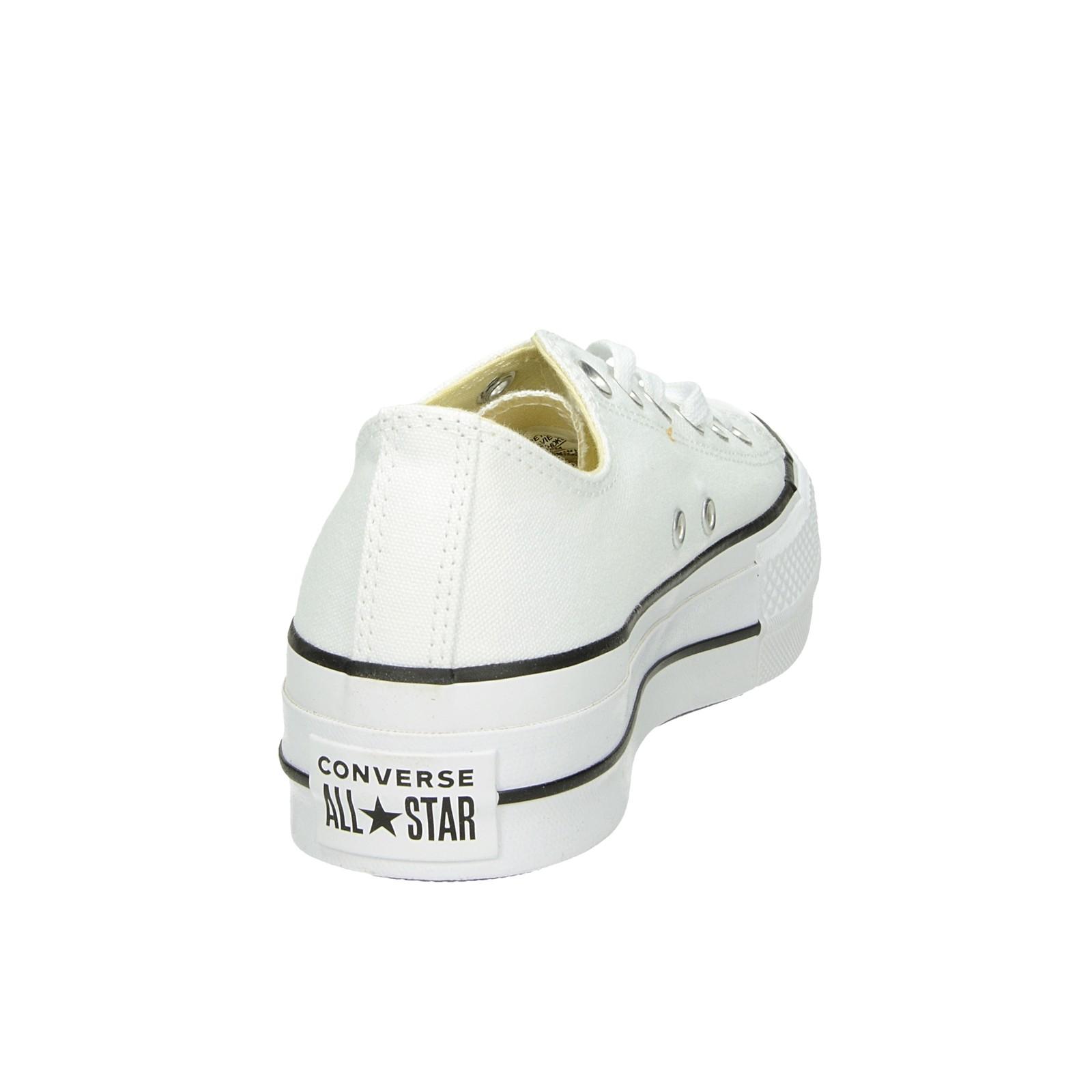 f67bdcd6ceecf Converse dámske štýlové tenisky na platforme - biele | C560251-WHT ...