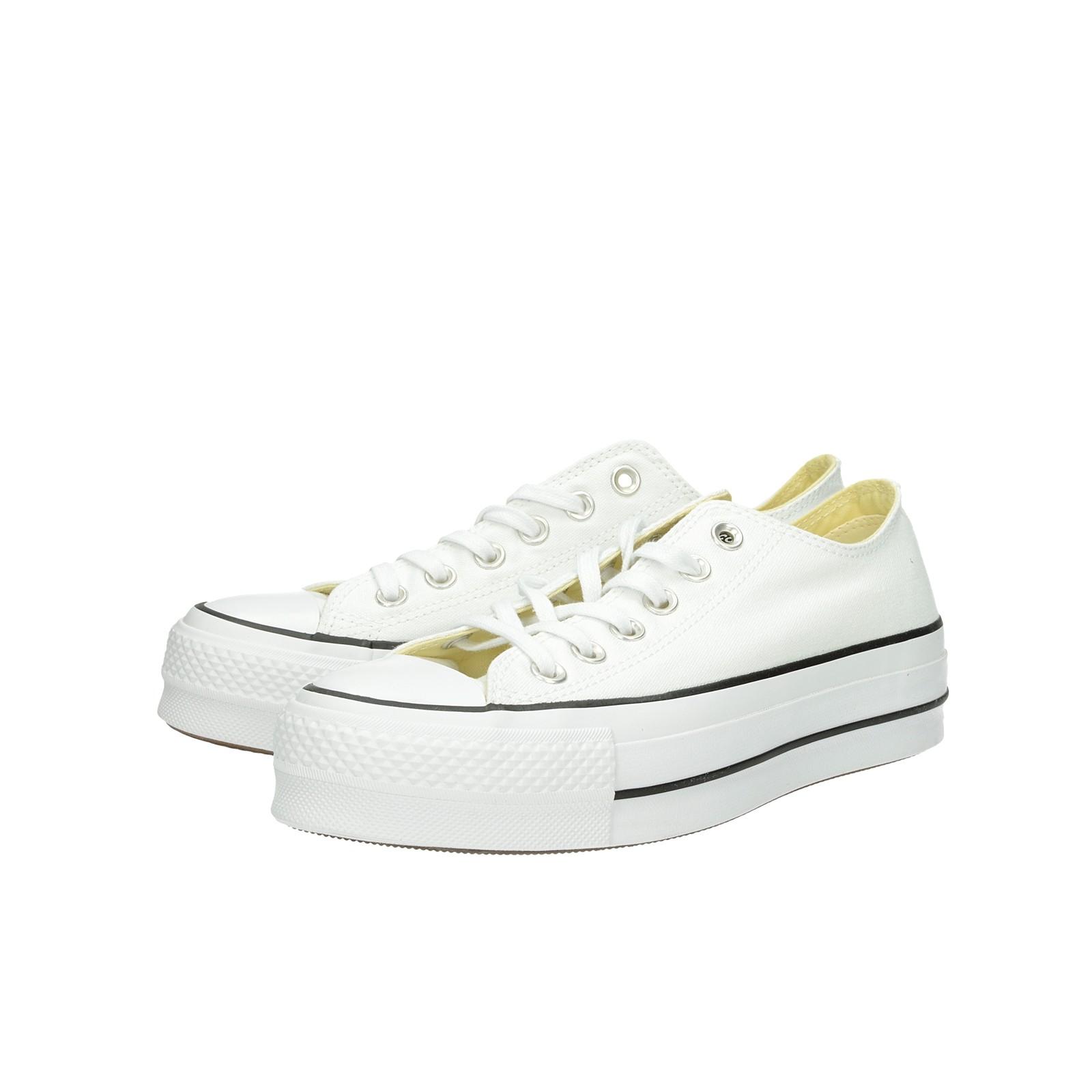 a71f437ae33e Converse dámske štýlové tenisky na platforme - biele ...