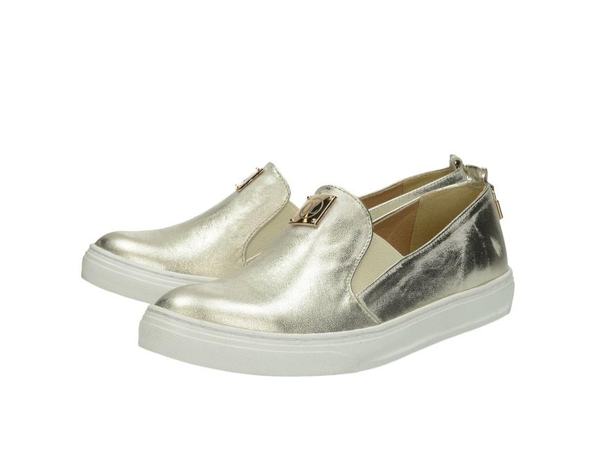 ... Olivia shoes dámske tenisky - zlaté ... 65c40477207