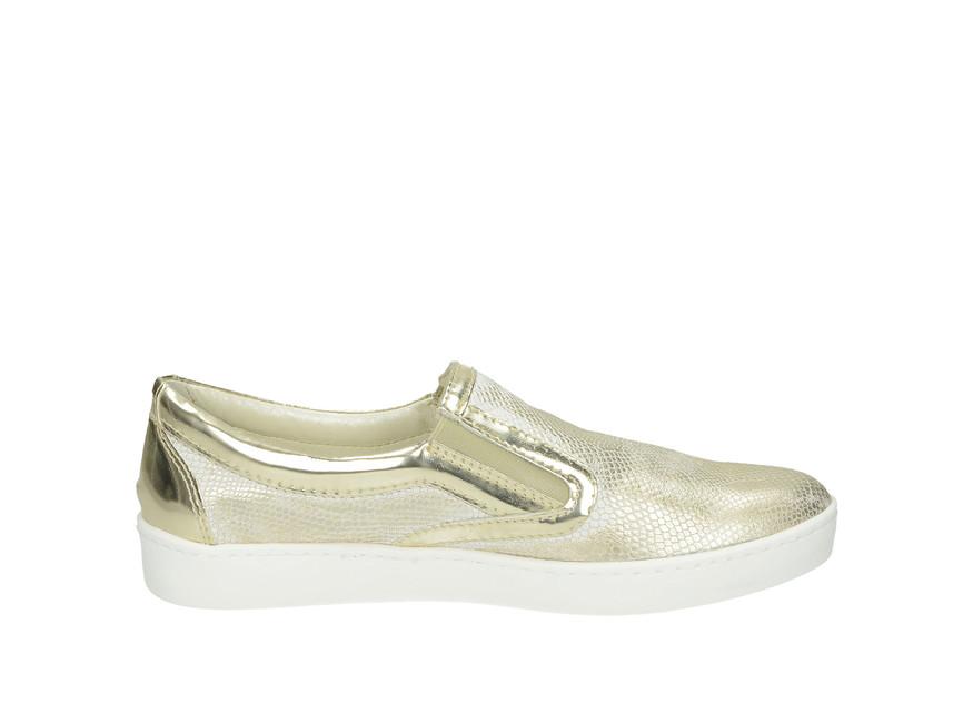 71c72178a6 ... Olivia shoes dámske slip-on tenisky - zlaté ...