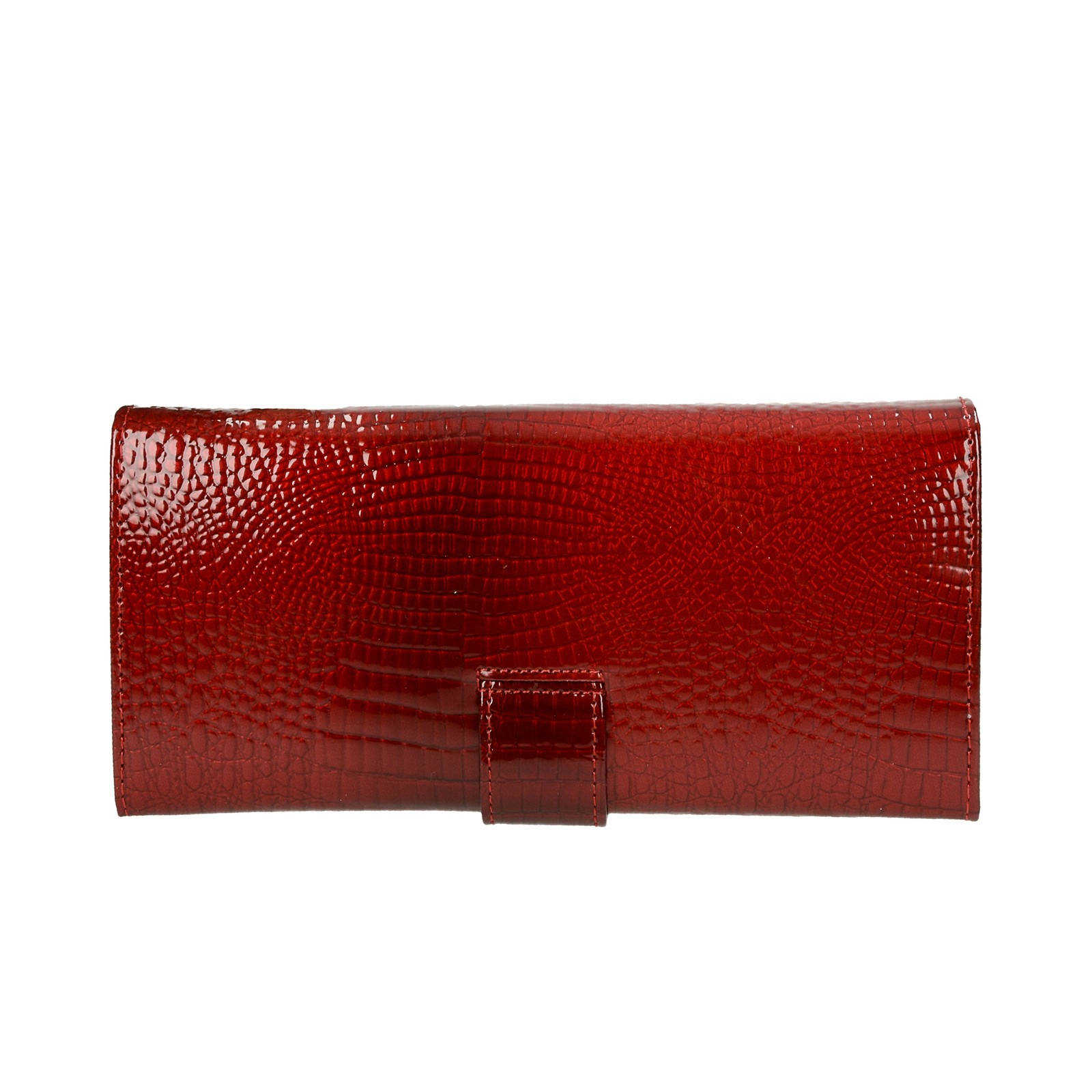 Loren dámska kožená peňaženka - červená