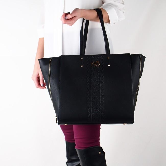 ... Nóbo dámska veľká kabelka - čierna ... b76eea247cc