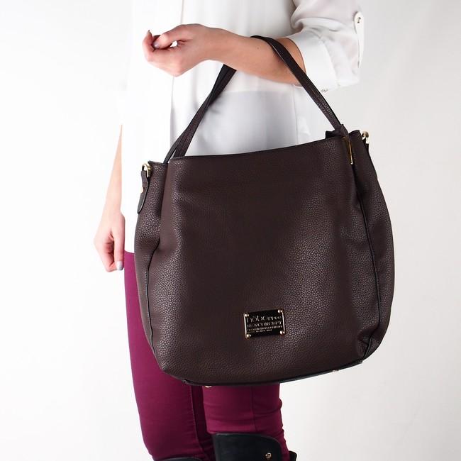 afddf247d430 Nóbo dámska klasická kabelka - hnedá ...
