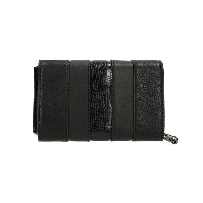 Nóbo dámska elegantná peňaženka - čierna