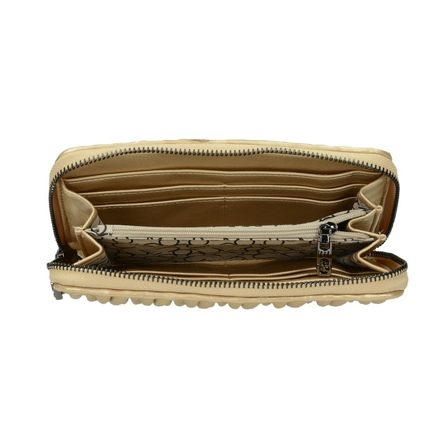 2c7e0ea2ef ... Nóbo dámska štýlová peňaženka - zlatá ...
