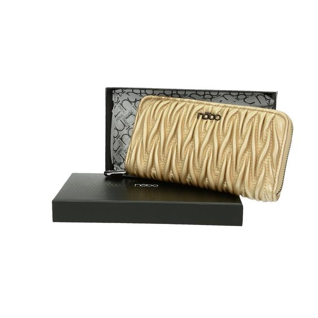 4af4b9d97c Nóbo dámska štýlová peňaženka - zlatá ...