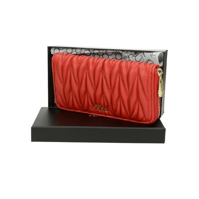 Nóbo dámska štýlová peňaženka - červená