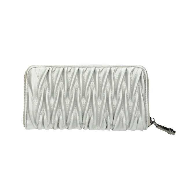 Nóbo dámska štýlová peňaženka - strieborná
