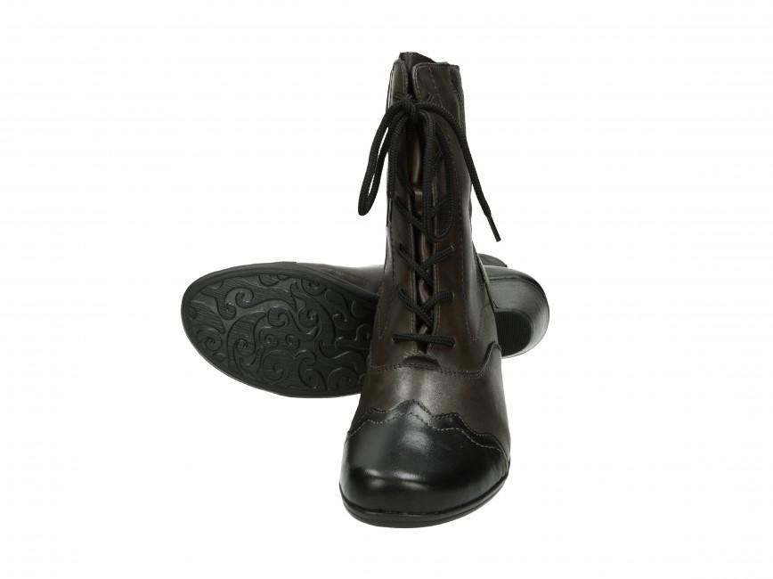 Remonte dámske čižmy - šedé