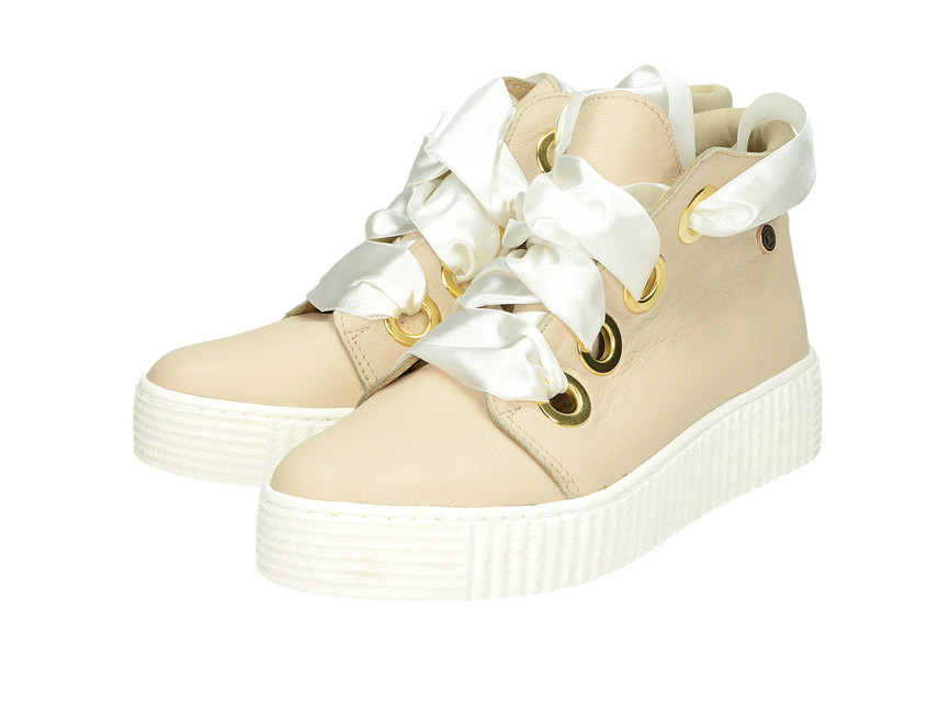 1253bbcf36 Olivia shoes dámske štýlové tenisky na platforme - béžové ...