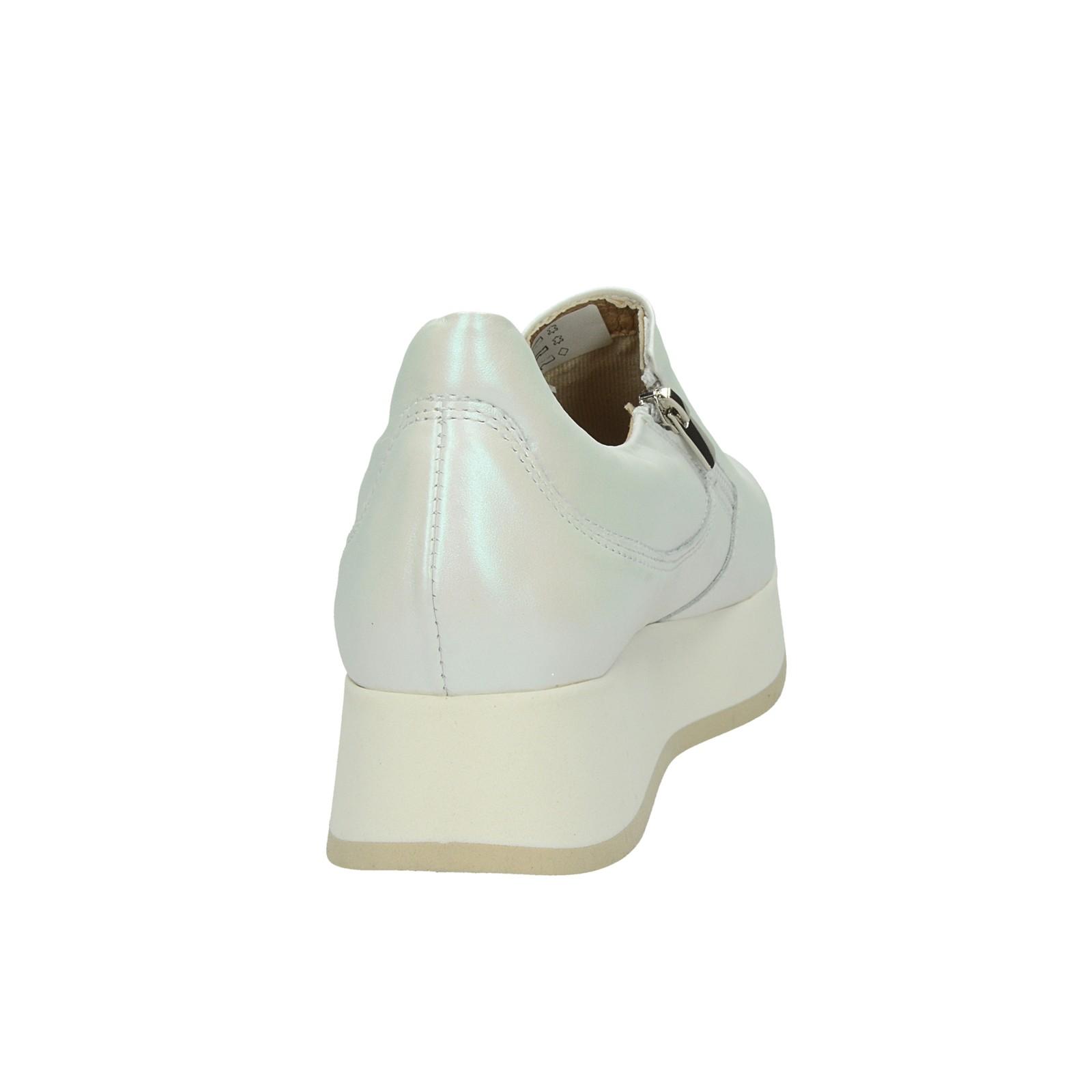 Olivia shoes dámske štýlové tenisky na klinovej podrážke - biele
