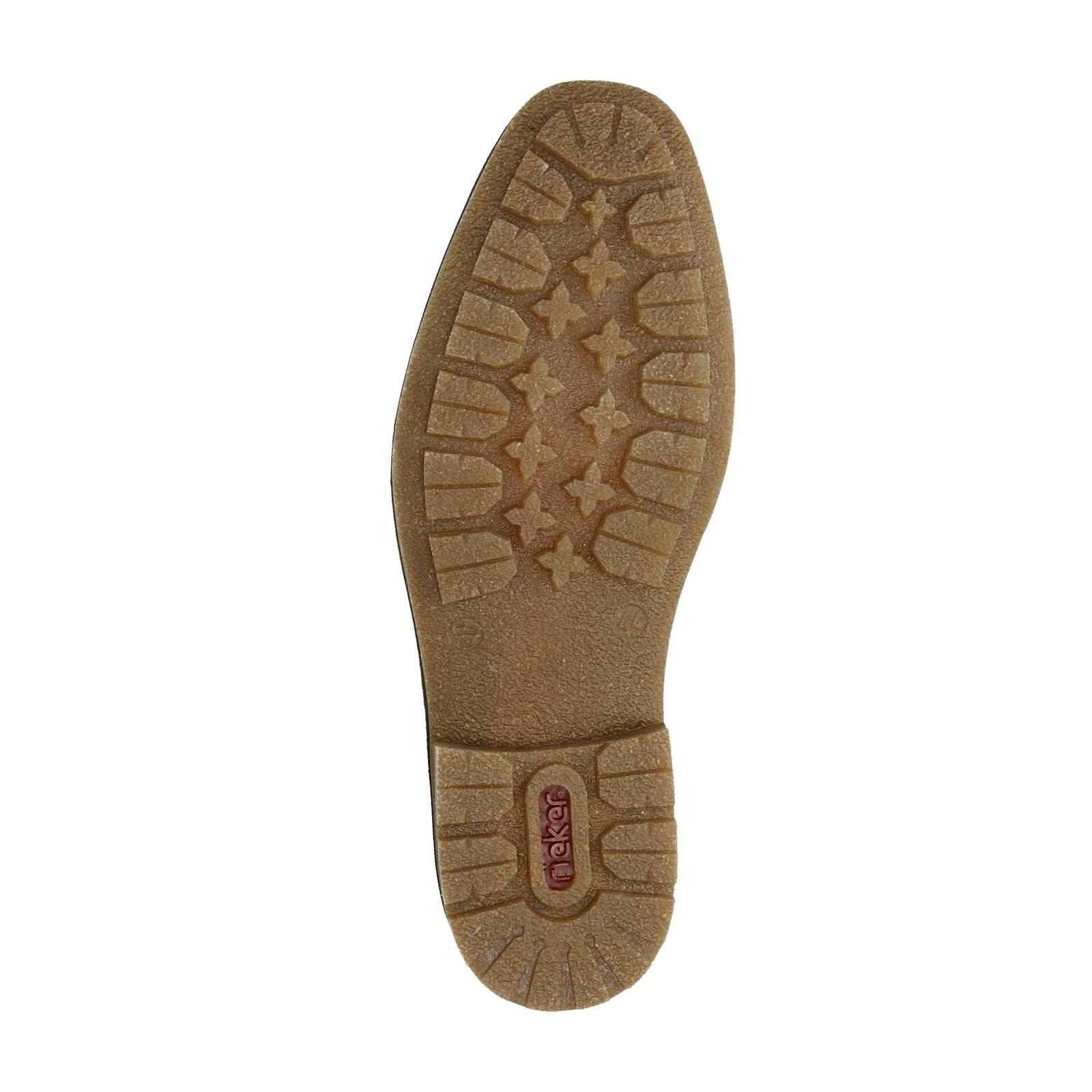 28adba8efb ... Rieker pánska kožená členková obuv - hnedá ...