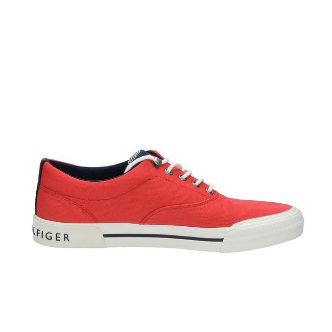 329889d17996 ... Tommy Hilfiger pánske štýlové tenisky - červené ...