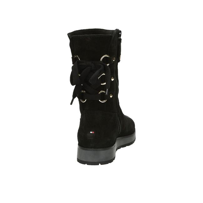 c52376316c ... Tommy Hilfiger dámske štýlové čižmy - čierne ...
