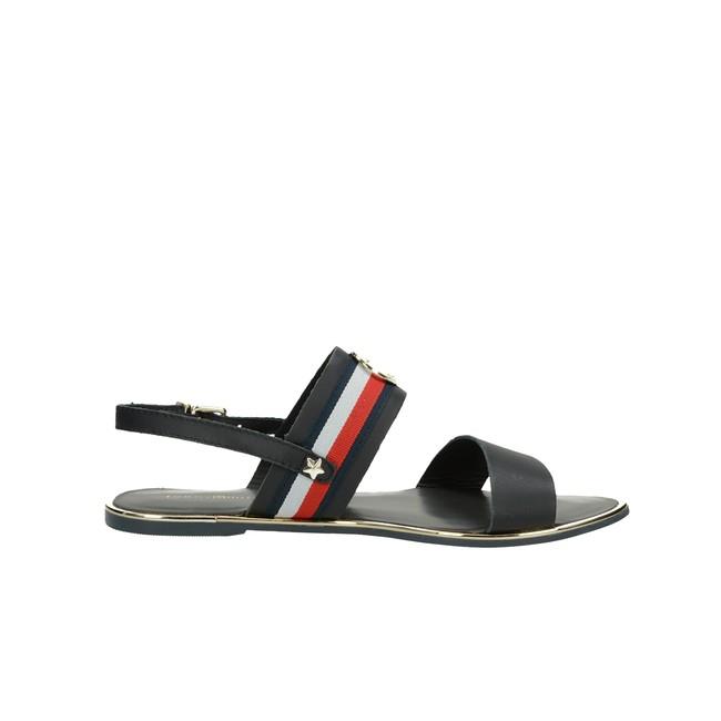 Tommy Hilfiger dámske štýlové sandále - modré ... ad04ad679e5