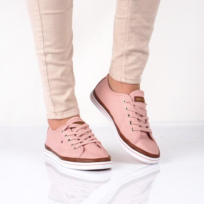 ... Tommy Hilfiger dámske štýlové tenisky - ružové ... 0dce74c801
