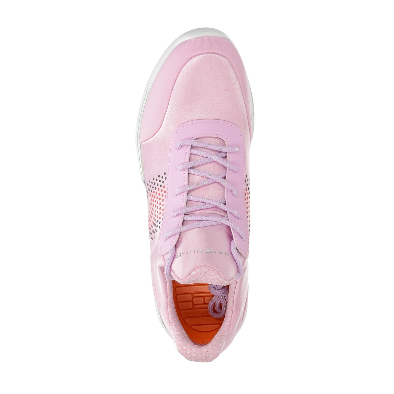 d0b735c15d Tommy Hilfiger dámske štýlové tenisky - ružové ...