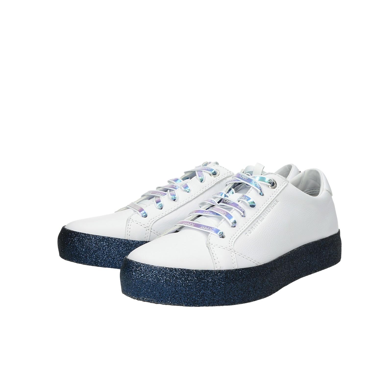 f37ba871ac50d Tommy Hilfiger dámske štýlové tenisky na platforme - biele ...