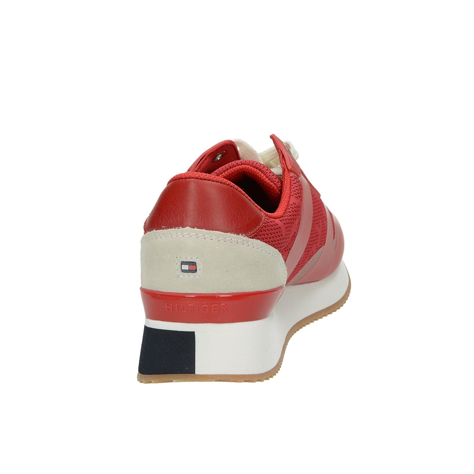 617b622d5 Tommy Hilfiger dámske štýlové tenisky - červené | FW0FW04026611 ...