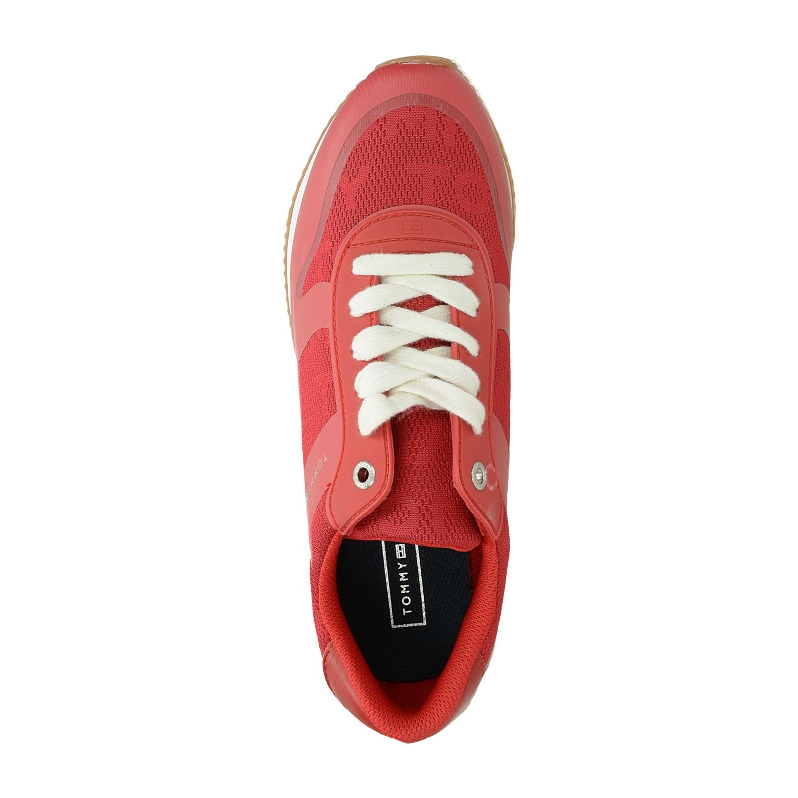 be0242b13 Tommy Hilfiger dámske štýlové tenisky - červené | FW0FW04026611 ...