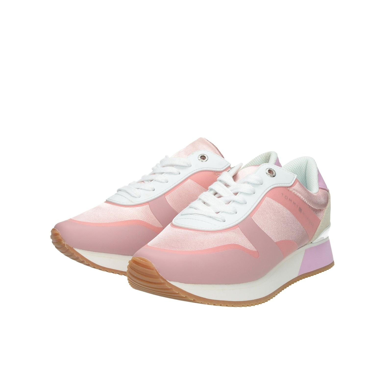 f8a05d8e18273 Tommy Hilfiger dámske štýlové tenisky - ružové | FW0FW04099518-PINK ...