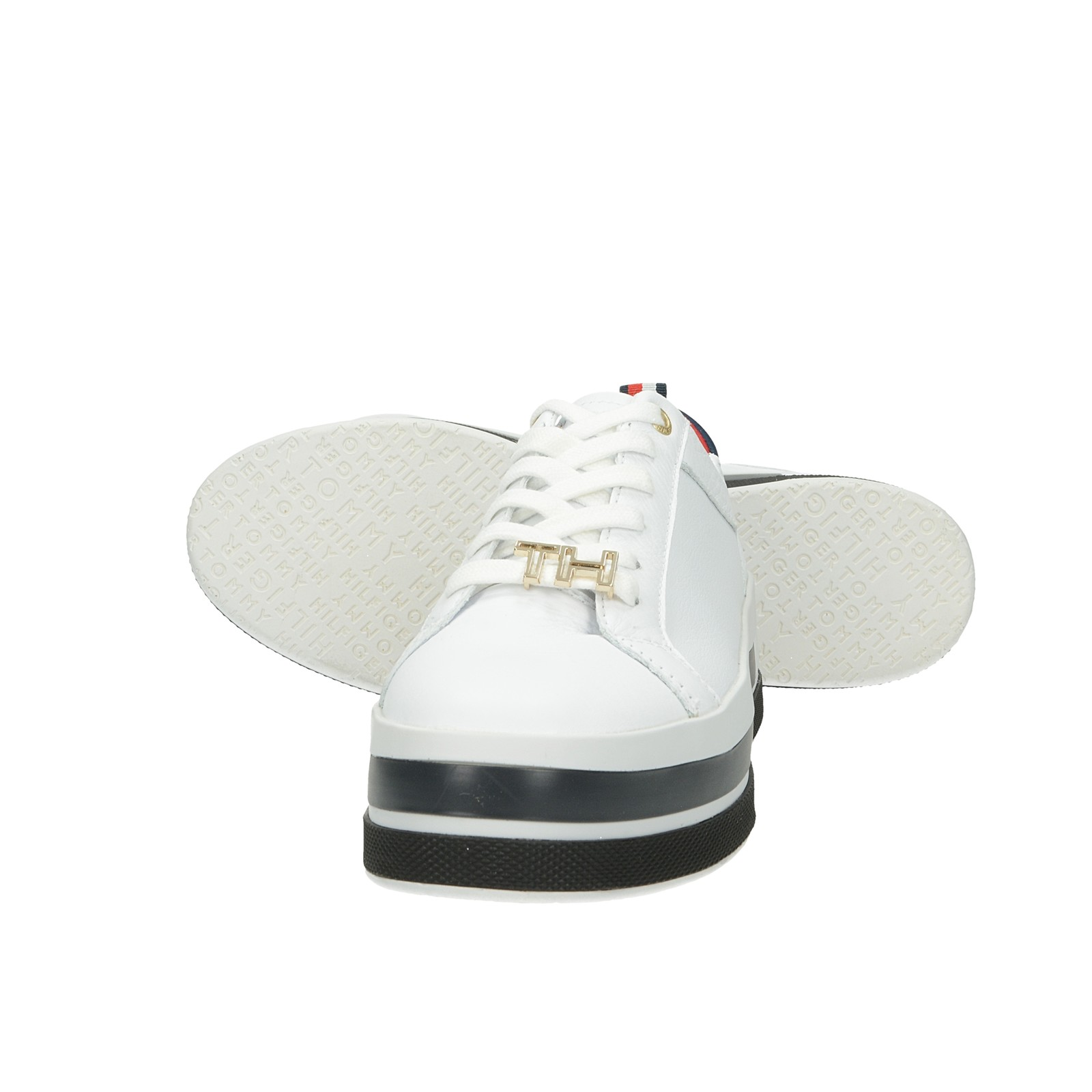 Tommy Hilfiger dámske štýlové tenisky - biele