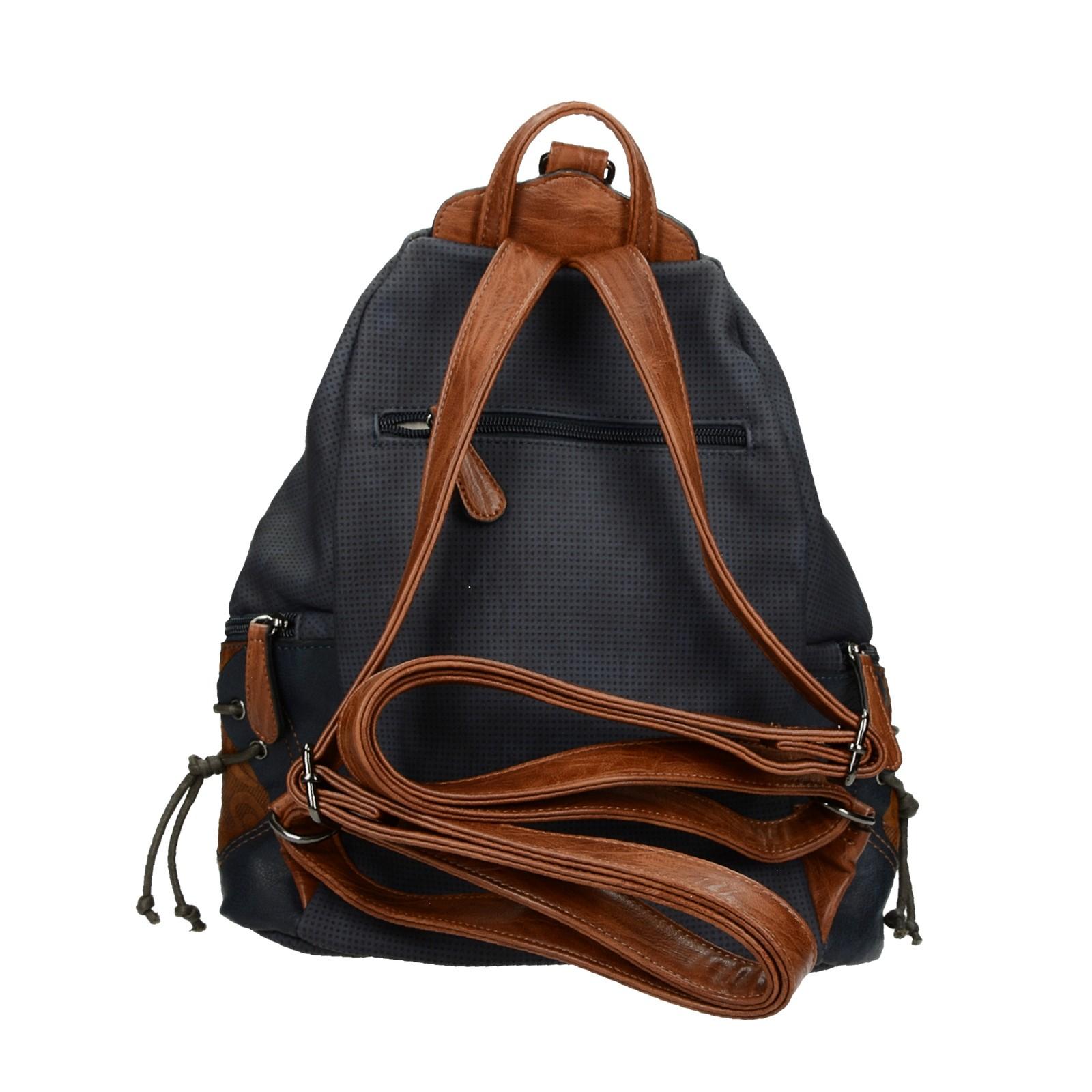 Rieker dámsky štýlový ruksak - tmavomodrý