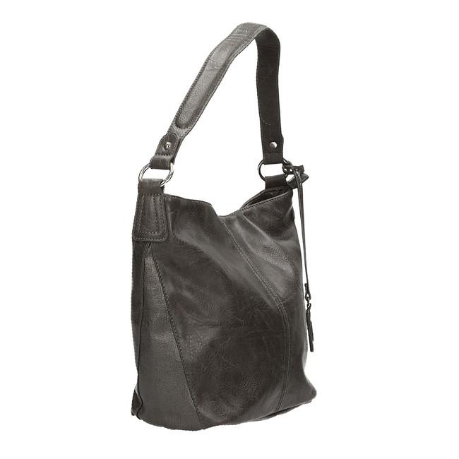 Rieker dámska praktická kabelka - šedá