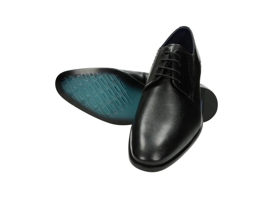 Daniel Hechter pánske topánky - čierne ... f807e1ba294