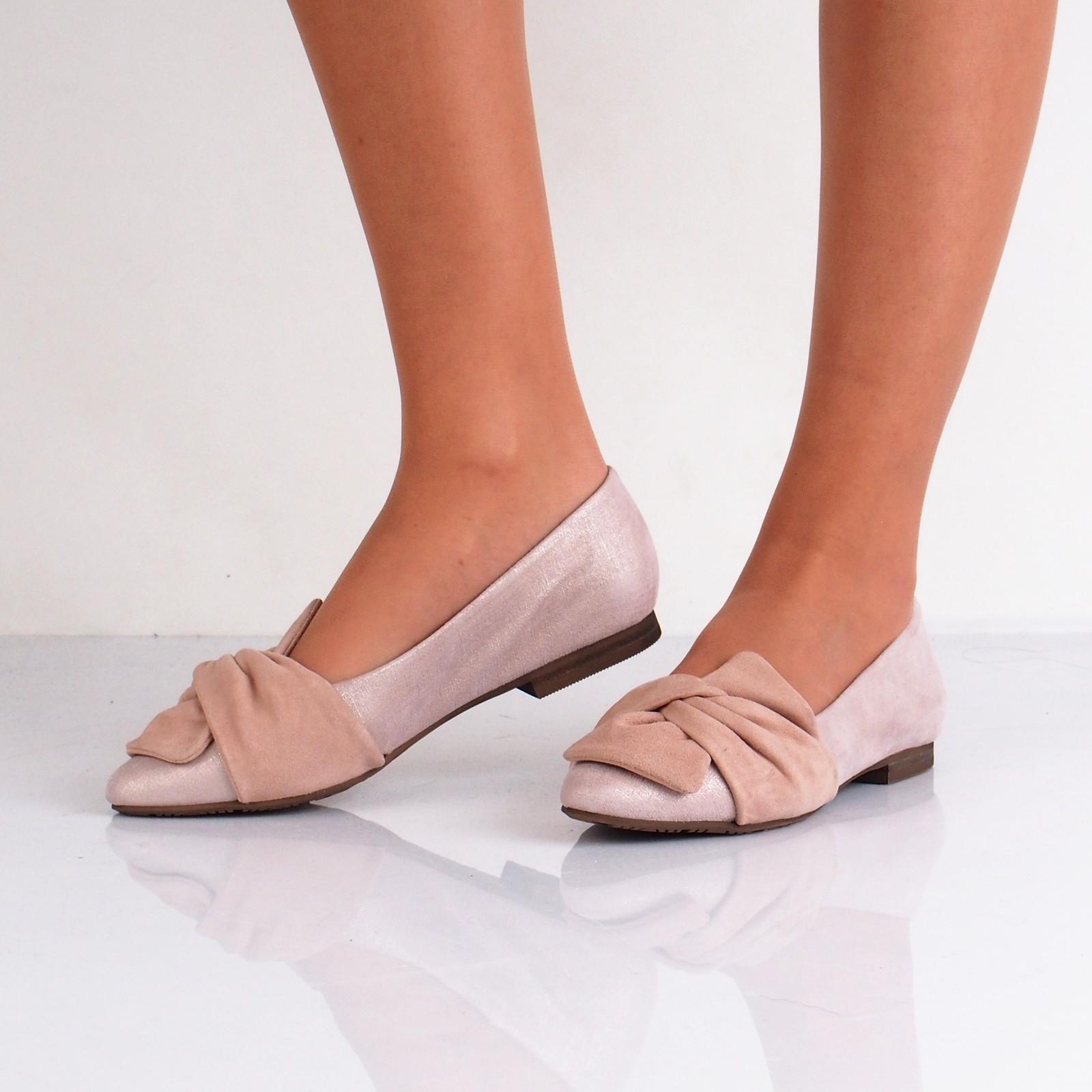 4c2ba9eb4e ... Regarde le ciel dámske kožené balerínky - ružové ...