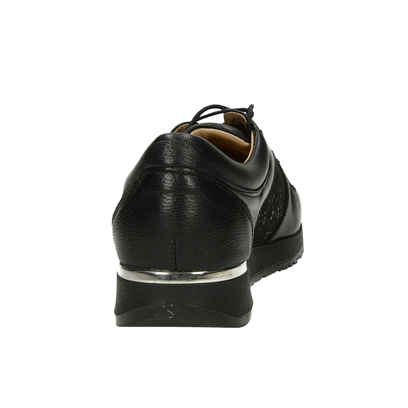 d8874610e4 ... Olivia shoes dámske kožené tenisky - čierne ...
