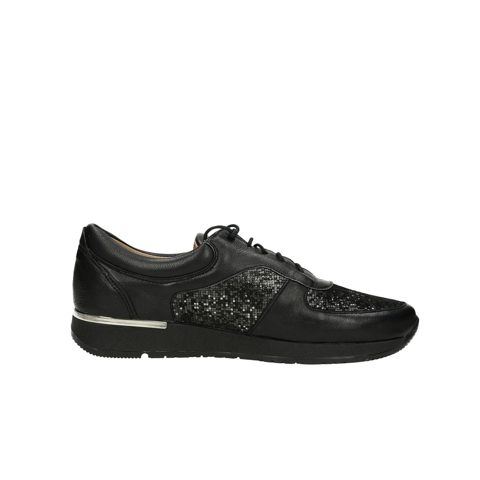 Olivia shoes dámske kožené tenisky - čierne ... 654175dbd53