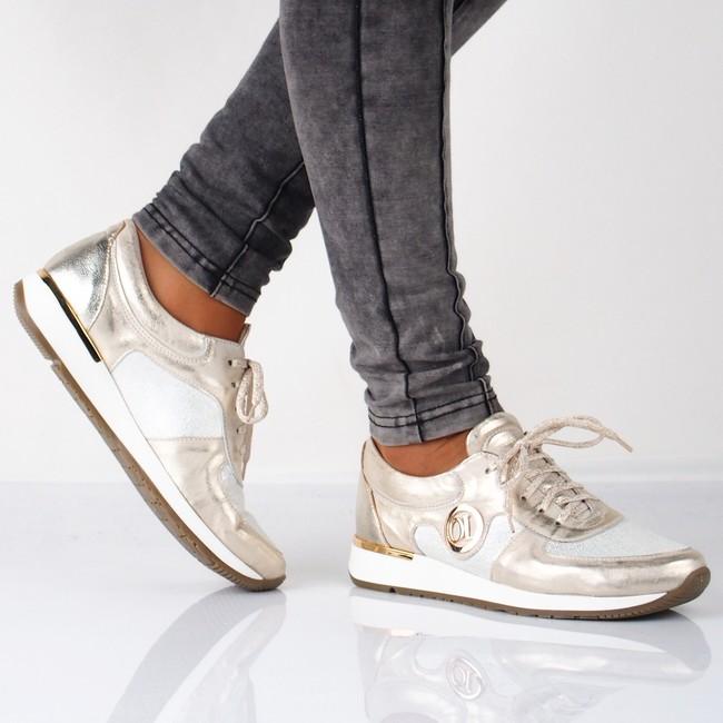 f4ccd86bb6 Olivia shoes dámske tenisky - zlaté ...