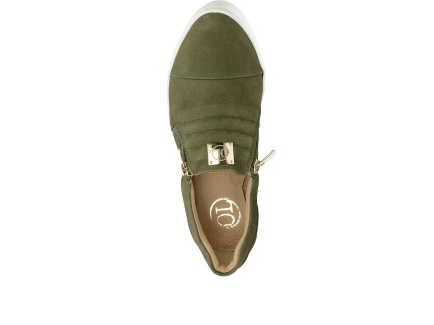 Olivia shoes dámske tenisky - zelené ... b05ee35af4d