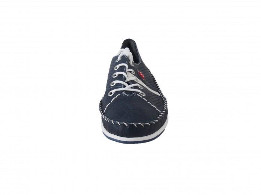 543cf792dd14 ... Rieker dámska šnurovacia obuv - tmavomodrá ...