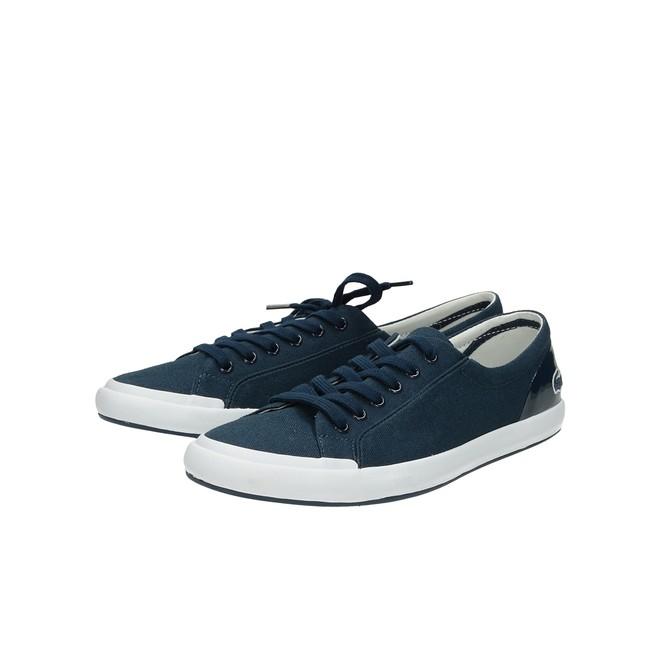 63939d50c5f8 ... Lacoste dámske štýlové textílne tenisky - modré ...