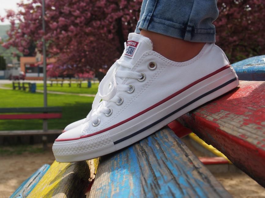 Converse dámske štýlové tenisky biele | M7652 WHT WOMENS