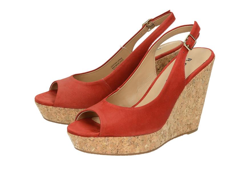 30fa506d00c5 Robel dámske sandále s remienkom - červené ...