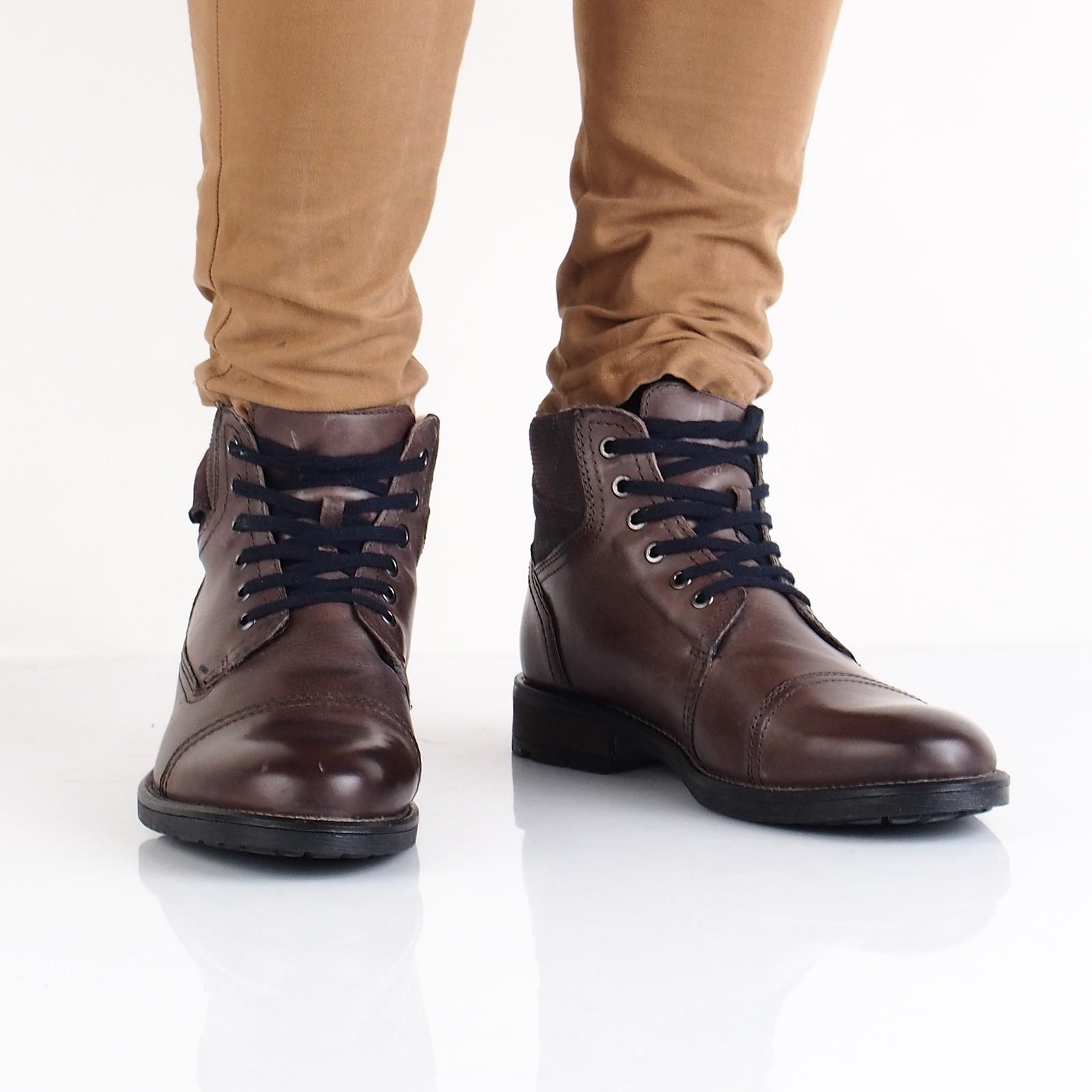ea1bdd8205 Klondike pánska kožená členková obuv - hnedá ...