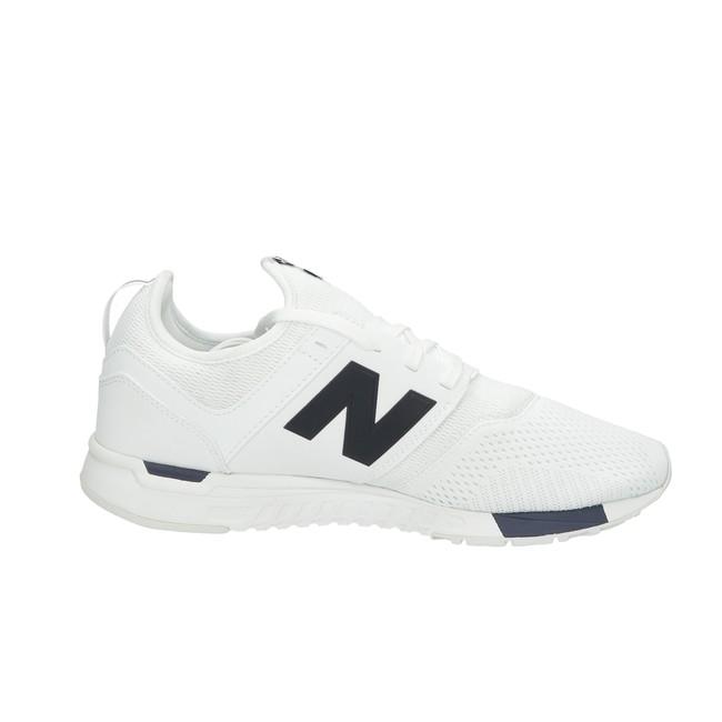 New Balance pánske textilné tenisky - biele ... d98be09d55e