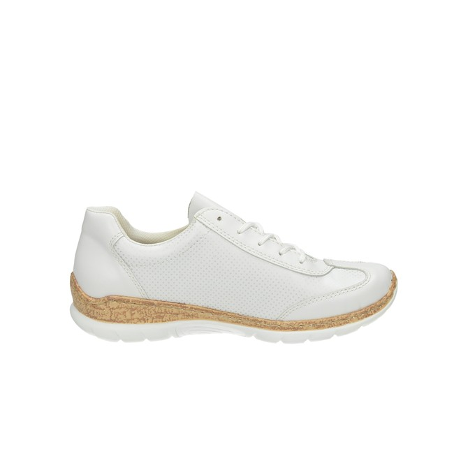 Rieker dámske pohodlné tenisky - biele ... e572248648